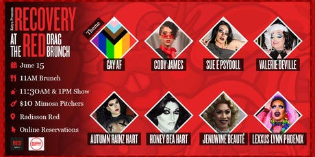 Recovery at the Red Drag Brunch Hosted By Katya (ONE RESERVATIONS PER TABLE) tickets
