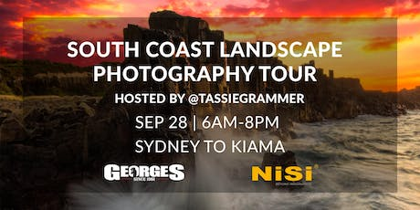 South Coast Landscape Photography Tour with Tassiegrammer (NiSi) tickets