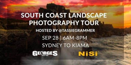 South Coast Landscape Photography Tour with Tassiegrammer (NiSi)