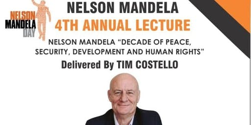 Nelson Mandela 4th Annual Public Lecture