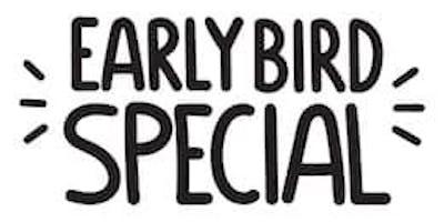 EARLY BIRD SPECIAL...$100 per couple