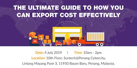 The Ultimate Guide To How You Can Export Cost Effectively tickets
