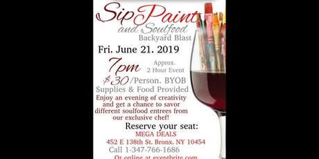 Sip Paint & Soulfood tickets