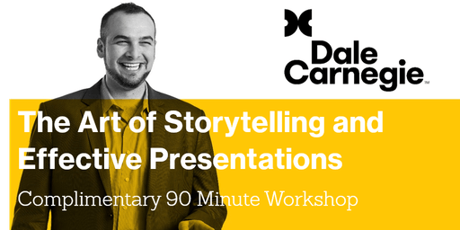 The Art of Storytelling and Effective Presentations - Adelaide Workshop