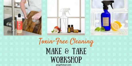Toxin-Free Cleaning tickets