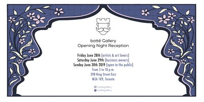 Botté Gallery Opening