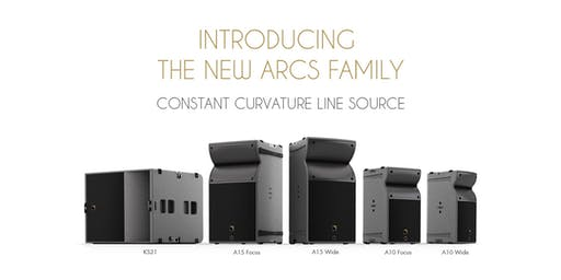 L-Acoustics ARCS Family: A New Scalable Solution for Events and Installations