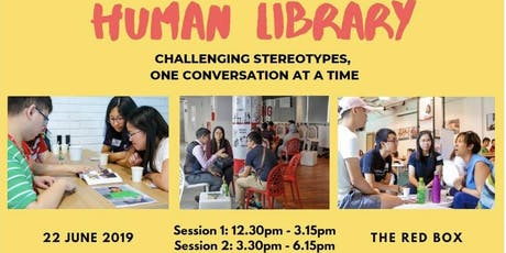 Youth Corps Singapore Empathy Taskforce's Human Library tickets