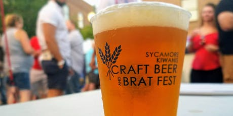 Sycamore Kiwanis Craft Beer & Brat Fest tickets
