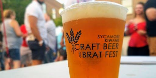 Sycamore Kiwanis Craft Beer & Brat Fest