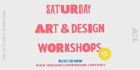 Saturday Art & Design Workshops tickets