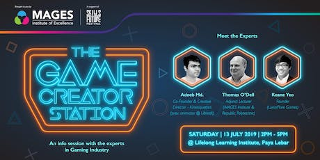 The Game Creator Station - A SkillFuture Festival Workshop tickets
