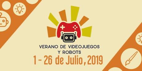 Verano de robots y videojuegos boletos