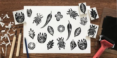 Linocut Printmaking For Children Age 7-10