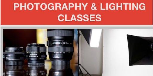 Photography and Lighting Basics Class