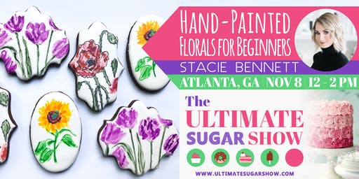 Beginner Hand-Painted Florals with Stacie Bennett