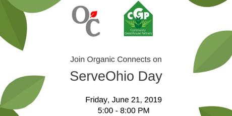 ServeOhio Day with Organic Connects tickets
