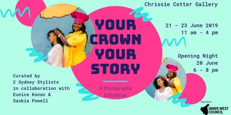 Your Crown Your Story - photo exhibition - Open Inner West 2019 tickets