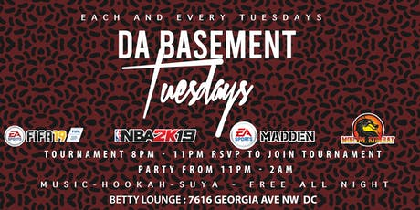 DA BASEMENT TUESDAYS tickets