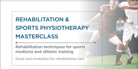 Rehabilitation and Sports Physiotherapy Masterclass tickets