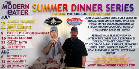 "SDS Week 1 ""The Butcher and the BBQ'er!"" Jason Nauret and Jeff Gebott  tickets"