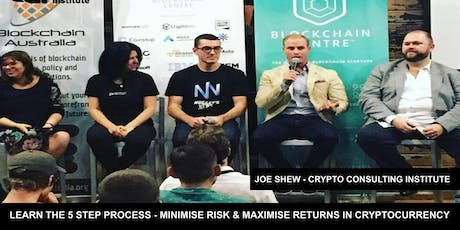 CRYPTOCURRENCY INVESTORS WORKSHOP Learn The 5 Steps To SAFELY Create Wealth tickets