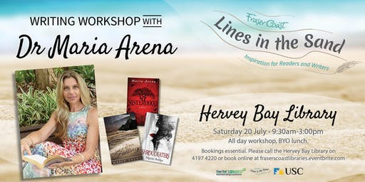Writing Workshop with Dr Maria Arena - Hervey Bay Library