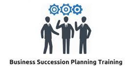 Business Succession Planning 1 Day Training in Canberra tickets