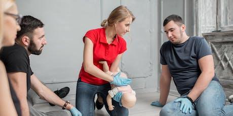 Vem, kako ukrepati! - delavnica prve pomoči dojenčkom in otrokom tickets