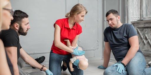 Vem, kako ukrepati! - delavnica prve pomoči dojenčkom in otrokom