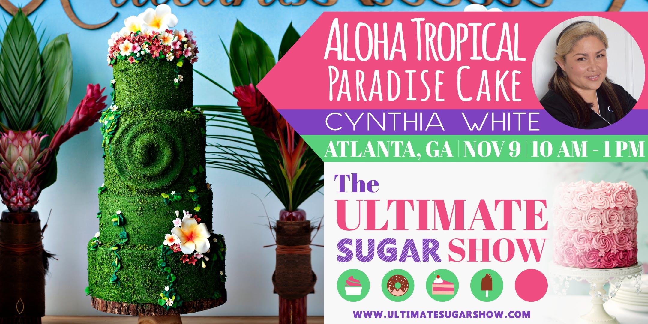 Tropical Paradise Cake with Cynthia White