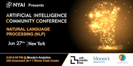 Natural Language Processing Community Conference (NYAI.co) tickets