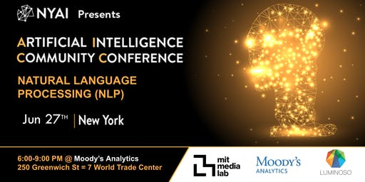 Natural Language Processing Community Conference (NYAI.co)