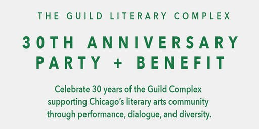 Guild Literary Complex 30th Anniversary Party + Benefit