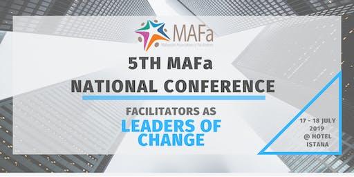 "5th MAFa National Conference 2019 ""Facilitators as Leaders of Change"""