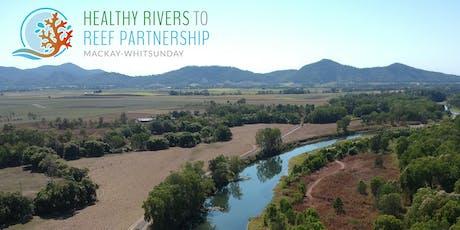 Launch of the Mackay-Whitsunday region waterway health scores tickets