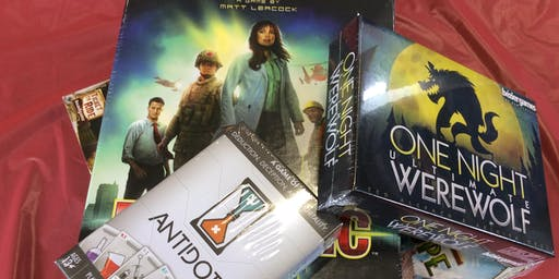 Rockdale Library - Board Game Mania (for teenagers 13+)