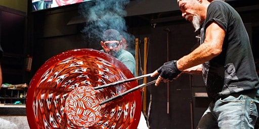 Glass blowing: adventures with a Venetian maestro in the Hot shop (4 day workshop)