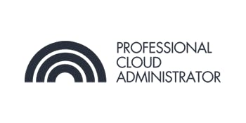 CCC-Professional Cloud Administrator(PCA) 3 Days Training in Adelaide