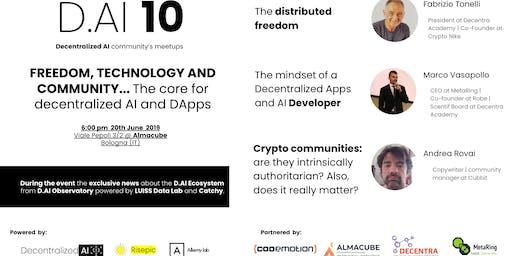 BOLOGNA Meetup #AperiTech di Decentralized AI | D.AI 10