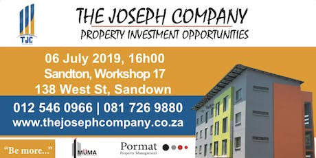 Investment Tour: Invest early in property developments through TJC tickets
