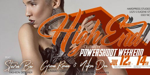 High-end Celebrity Power Shoot+Model Workshop Wknd (Greensboro, NC)