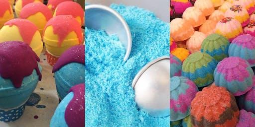 Fizzies & Fun: Rubber City Soaps Presents a Bath Bomb Making Class