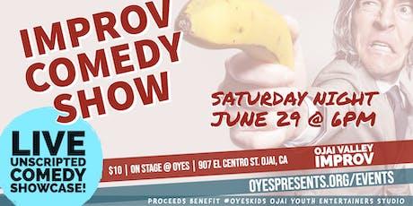 Improv Comedy Show tickets