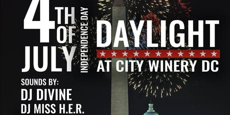 Daylight 4th of July Rooftop Fireworks Party @ City Winery DC tickets