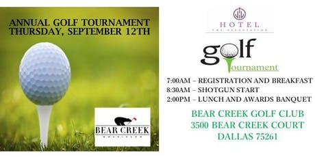 The Hotel Association's Annual Golf Tournament tickets