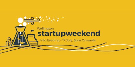 Info Evening: Startup Weekend Wellington 2019 tickets