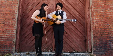 Qristina and Quinn Bachand at Tractorgrease Cafe tickets
