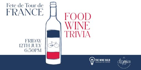 Diggies FRENCH FOOD WINE & TRIVIA tickets
