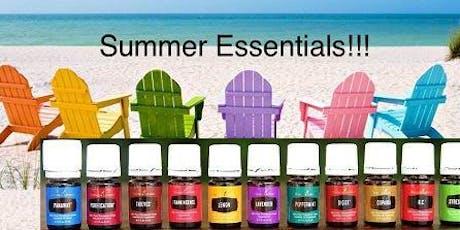 Summer Essentials: Health & Wellness with Essential Oils tickets